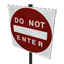 Do Not Enter Symbol Style