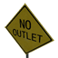No Outlet Symbol Style