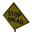 Stop Ahead Symbol Style