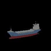 Cargo Ship Empty Symbol Style