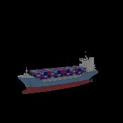 Cargo Ship Full Symbol Style