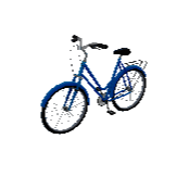 City Bike Symbol Style