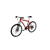 Mountain Bike Symbol Style