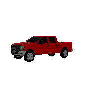 Pickup Truck Ford F250 Symbol Style