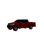 Pickup Truck Toyota Hilux Symbol Style