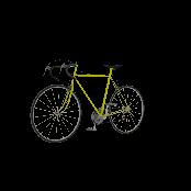 Road Bike Symbol Style