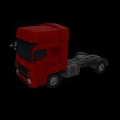 Semi Trailer Truck Symbol Style