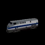 Train US Symbol Style