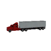 Truck With Trailer Symbol Style