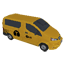 Van Taxi Symbol Style