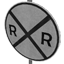 Railway Crossing Symbol Style