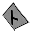 Right T-junction Symbol Style