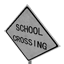 School Crossing Symbol Style