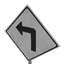 Turn Left Arrow Symbol Style